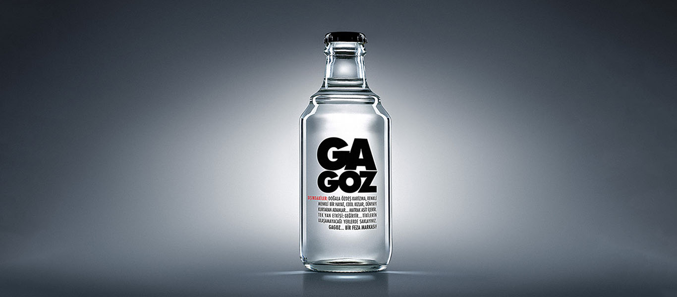 gagoz produces soda water, fizzy water and carbonated water
